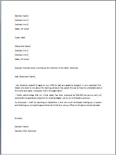 Employment Offer Letter New York 82 best word business templates images on