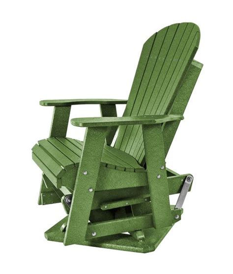 kanyon living     foot lime green adirondack