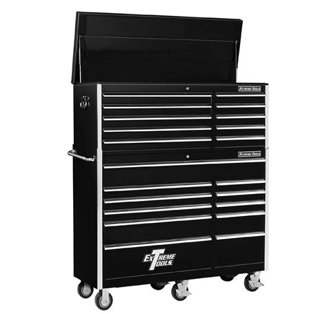 best deals on tool cabinets extreme tools 56 quot 10 top chest 11 roller