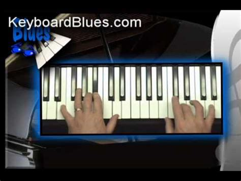 tutorial piano blues blues piano lessons chapter 15 overview youtube