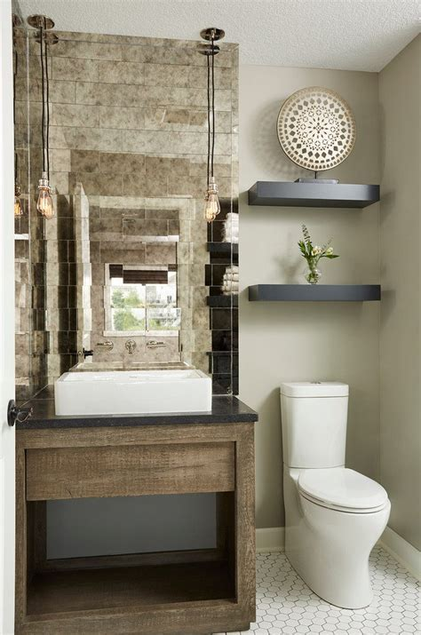 Magnificent Floating Shelves in Bathroom with Curbless