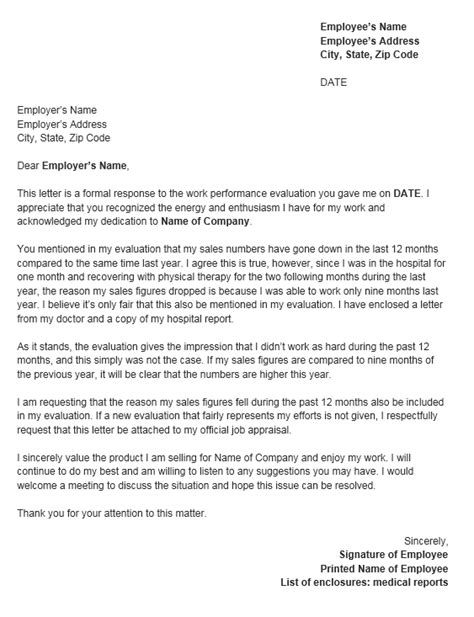 letter of rebuttal template free 5 rebuttal letter templates pdf downloads