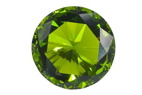green gem isolated jewelry by atiketta sangasaeng