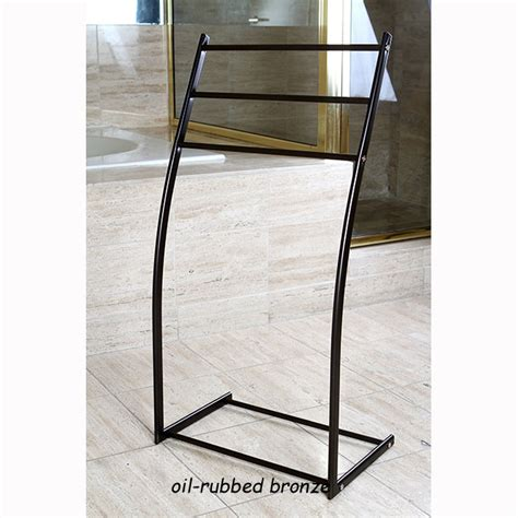 Floor Standing Towel Rack by Floor Stand Steel Towel Rack