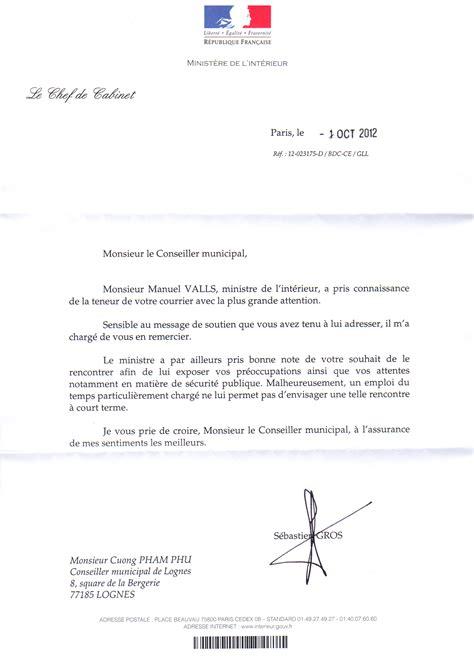 Exemple De Lettre De Démission Conseiller Municipal Modele Lettre De Demission Conseiller Municipal