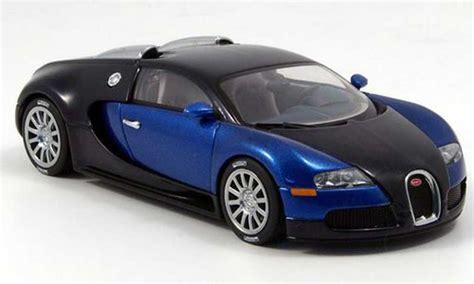 Bugatti Veyron Model Car 1 43 Scale 2005 Blue Ixo Atlas 2891011 Mythiq bugatti veyron 16 4 eb 2005 autoart diecast model car 1 43