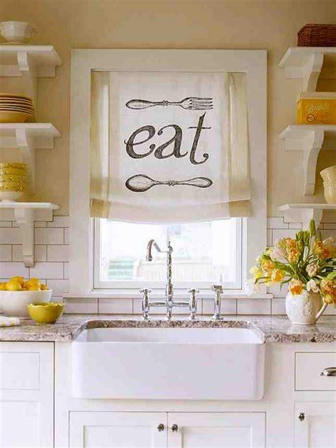 easy kitchen window treatments pictures decor ideasdecor