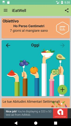 app diario alimentare android ieatwell un ottimo diario alimentare da provare su android