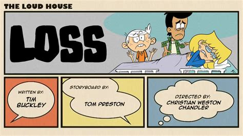 The Loud House Title Card Template by The Loud House Loss By Jfmstudios On Deviantart