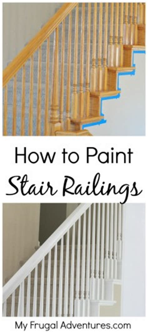 Difference Between Banister And Balustrade by How To Paint Stairwells Painted Stair Railings Paint