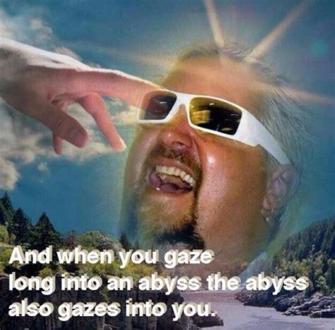 Guy Fieri Meme - the abyss guy fieri know your meme