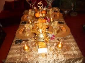 table des oranges et des epices