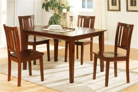 kitchen table chairs cheap home design ideas rustic casual eating room design with 4 pieces cheap