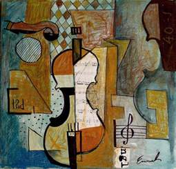 cubist paintings m e ologeanu artworks god is