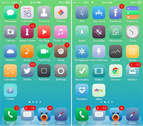 theme rose cydia ios 8 the 8 best ios 7 themes for iphone download here