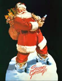 Sundblom s santa was very different from the other santa