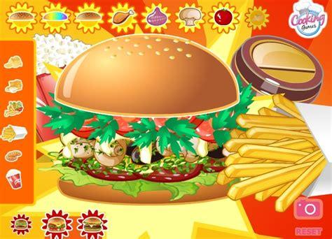 jeu de cuisine hamburger jeu restaurant hamburger gratuit en ligne