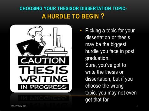 choosing dissertation topic planning a thesis by students
