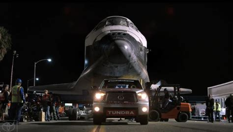 Toyota Shuttle Toyota Mini Doc Chronicles Tundra Towing Space Shuttle