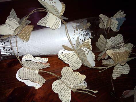 creazioni fiori di carta fiori in tela di juta per creazioni shabby chic il