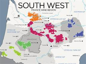 France Wine Regions Map by The Wines Of South West France Map Wine Folly