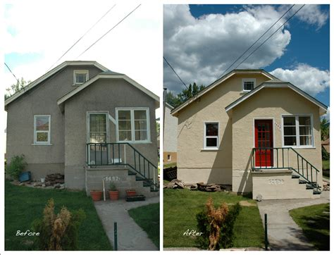 paint a house before after well more during jared s outlet