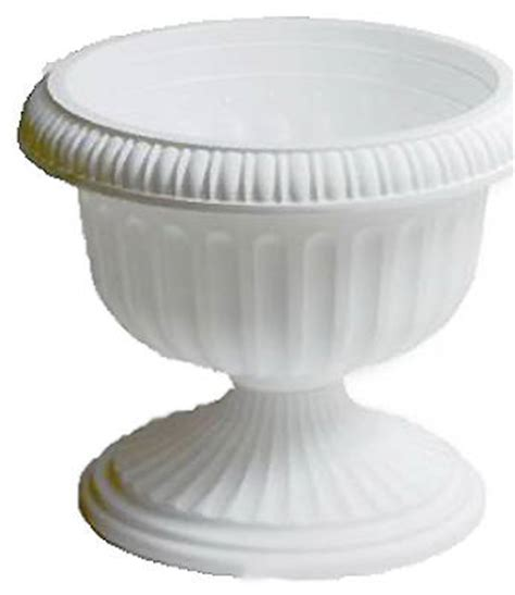 White Urn Planter by 6 Att Southern Ur1810wh 18 Quot White Grecian Urn Plastic