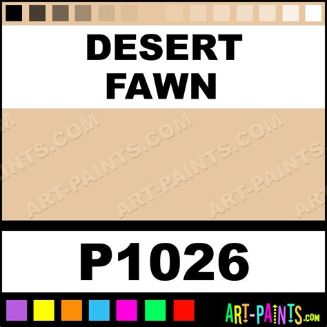 fawn colored desert fawn ultra ceramic ceramic porcelain paints p1026 desert fawn paint desert