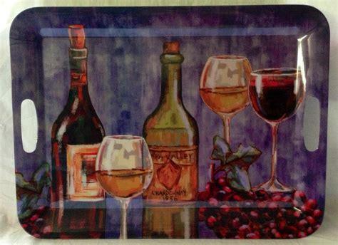 wine themed home decor home kitchen restaurant large jumbo wine grape theme