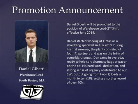 promotion announcement giberti pdf