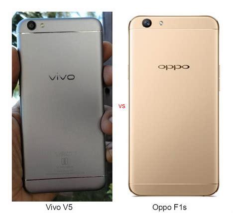 Handphone Vivo Vs perbandingan oppo f1s vs vivo v5 mana yang lebih baik