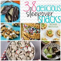 38 delicious sleepover snack recipes