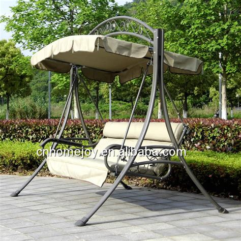 High Quality Deluxe Wrought Iron Swing Balcony Swing