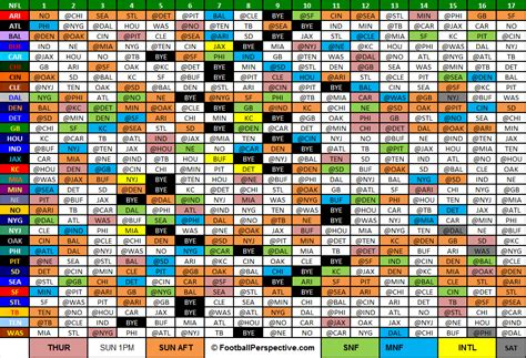 printable entire nfl schedule image gallery 2015 2016 nfl schedule