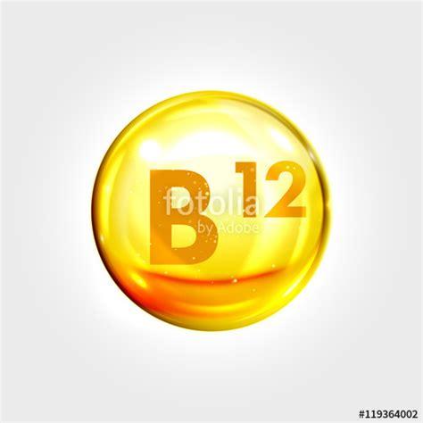 Pil Vitamin B12 quot vitamin b12 gold icon cobalamin drop pill capsule quot stock