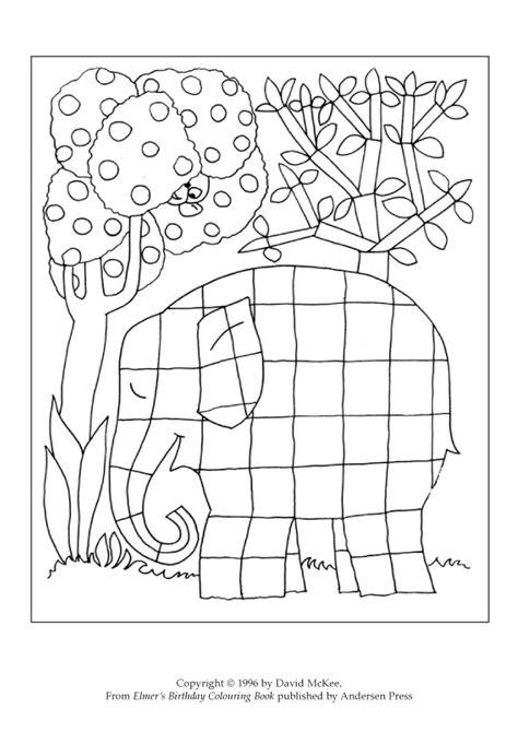 coloring book wrong colour a patchwork elmer scholastic club