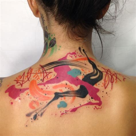 watercolor tattoo artists nyc 16 best images about brushstroke tattoos on