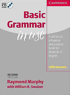 Basic Grammar 3rd Edition With Answer And Audio Cd basic grammar in use with answers and audio cd self study reference and practice for students