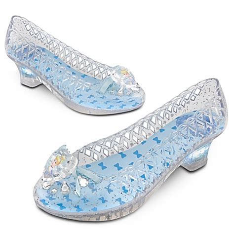 cinderella light up shoes size 7 8 disney store light up cinderella shoes size 7