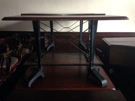 vintage cast iron table base secondhand vintage and reclaimed bar and pub