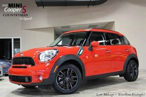 2012 mini cooper countryman owners manual with case for sell used 2012 mini cooper s countryman only 10k miles 6 speed manual turbo one owner in