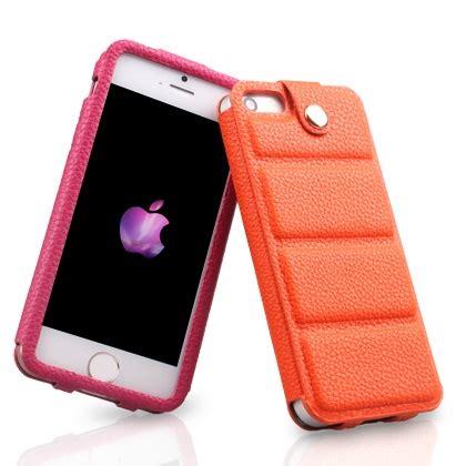 Iphone 55s Kashidun Chuan Series Leather With Button Efficient Protective Orange kashidun chuan series leather with button efficient protective for iphone 5 5s se orange