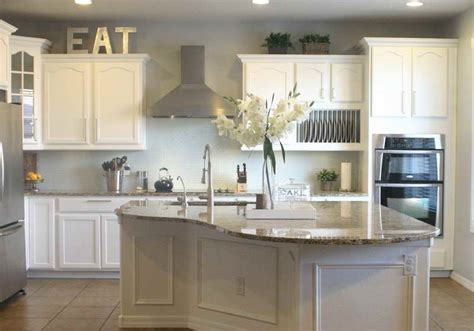 Best Paint Colors For Kitchen With White Cabinets Best White Kitchen Cabinet Color Kitchen And Decor