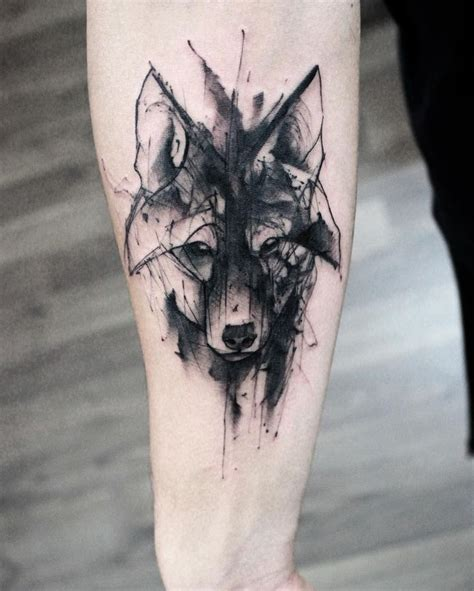 tattoo inspiration wolf 25 best ideas about watercolor wolf tattoo on pinterest