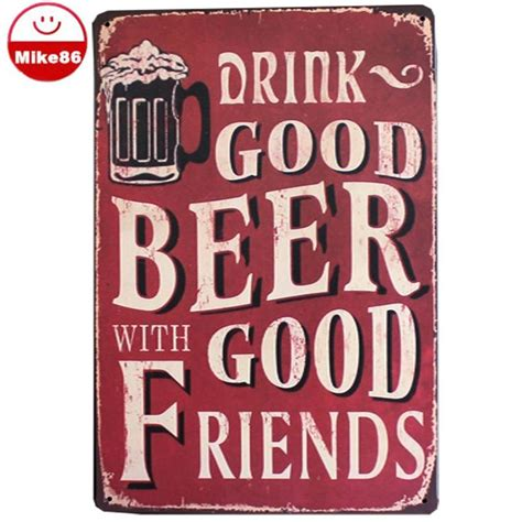 about quot drinking and beer quot metal painting vintage tin 34 best images about quotes on pinterest metal crafts