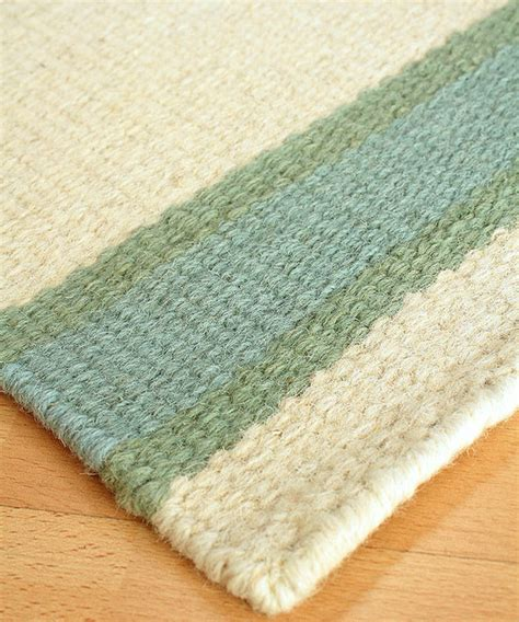 Wool Berber Area Rug Shelter Island Wool Berber Stripe Rug Transitional Rugs By Bliss Home Design