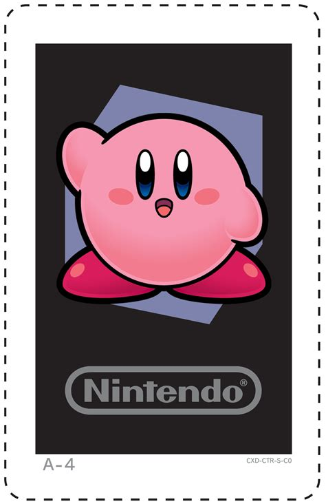 Nintendo 3ds Gift Card - nintendo 3ds ar cards kirby ar cards pinterest d nintendo 3ds and nintendo