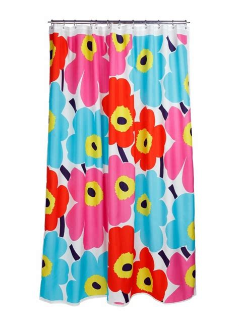 marimekko curtain marimekko shower curtain fresh colors and patterns in