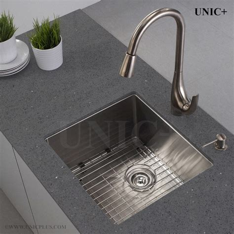 Kitchen Sink Vancouver 17 Inch Small Radius Style Stainless Steel Mount Kitchen Bar Sink Kur1718 In Vancouver