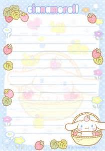 kawaii letter paper cinnamoroll kawaii pinterest